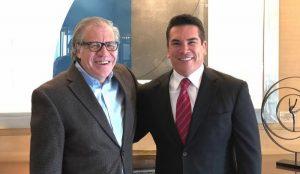 Se  reúne Alejandro Moreno Cárdenas con secretario general de la OEA