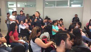 Policía de Género de la SSPC refuerza en la UJAT talleres en materia de acoso y hostigamiento sexual