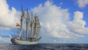 Los horarios para visitar el velero español Juan Sebastián de Elcano en Veracruz