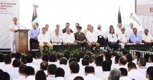 Atestigua Adán Augusto acciones de seguridad de Pemex y Semar