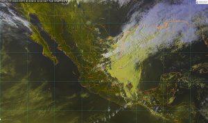 Se prevén tormentas puntuales muy fuertes en Puebla, Veracruz, Oaxaca y Chiapas