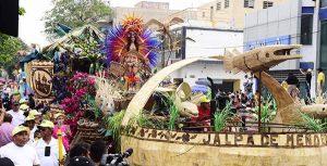 Fiesta multicolor en Desfile de Carros Alegóricos por la capital tabasqueña