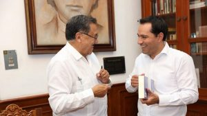 El Gobernador Mauricio Vila Dosal impulsa alianzas estratégicas para Yucatán