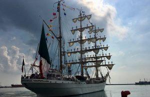 Despedirán este martes al buque escuela Cuauhtémoc en el puerto de Veracruz