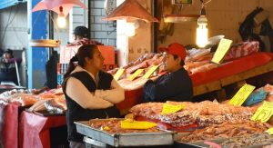 Los grandes mercados de pescados y mariscos de México