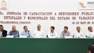Funcionarios bien capacitados, mejor rostro del Gobierno en Tabasco: Carlos Merino