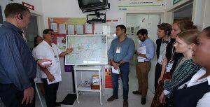 Conoce delegación de Dinamarca unidades médicas de Centro