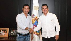 Eliseo Fernández se reúne con Alejandro Moreno Cárdenas