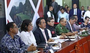 Anuncia Cuitláhuac García seguro contra desastres naturales en Veracruz