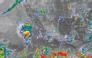 Se prevén lluvias intensas en Veracruz y muy fuertes en Puebla, Campeche, Yucatán y el sureste de México