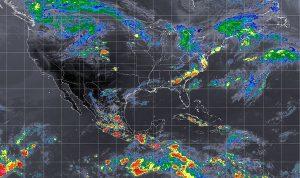 En Oaxaca y Chiapas, se prevén tormentas muy fuertes