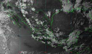 Se prevén lluvias intensas con descargas eléctricas y posible granizo en zonas de Chiapas y Campeche