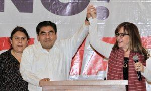 Conteo rápido da ventaja a Miguel Barbosa en elección a gubernatura de Puebla