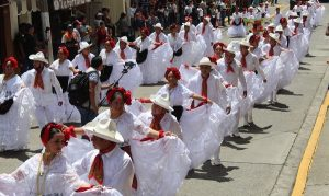 Con 500 participantes, se realizó desfile 'Masivo Jarocho' en Huatusco, Veracruz