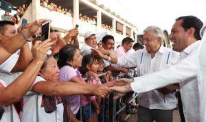 El trabajo coordinado entre el gobierno de Mauricio Vila y AMLO rinde exitosos resultados para Yucatán tras la visita presidencial