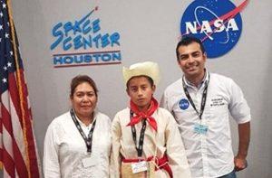 Alumno de Chiapas será capacitado por la NASA