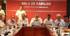 Se reúne gobernador con Mesa de Seguridad Regional de La Chontalpa