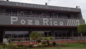 """En riesgo de cerrar el aeropuerto """"El Tajín"""" en Tihuatlán, Veracruz"""