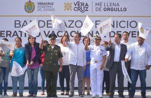 Pone en marcha Cuitláhuac García el Plan Operativo Vacaciones de Verano 2019, en Veracruz
