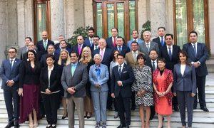 El presidente del Poder Judicial de Tabasco, Enrique Priego Oropeza, participó en la primera reunión de trabajo en SEGOB