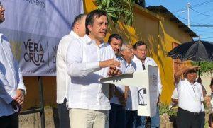 Arranca Gobernador obras en el municipio de Veracruz