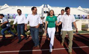 El Gobernador Mauricio Vila Dosal pone en marcha la remodelación del Estadio General Salvador Alvarado