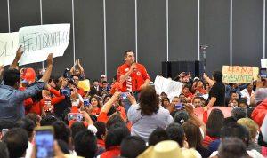 Generaciones de mexicanos vivieron en paz y tranquilidad, gracias al PRI: Alito
