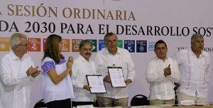 Sustentabilidad para proteger a Tabasco, plantea Adán Augusto