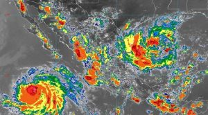 Se prevén lluvias muy fuertes en áreas de 13 entidades de México