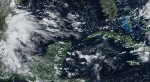 Se pronostican un aumento en el potencial de lluvias para los próximos días en la Península de Yucatán