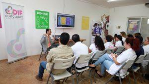 Impulsa DIF Cancún capacitación en materia de Justicia
