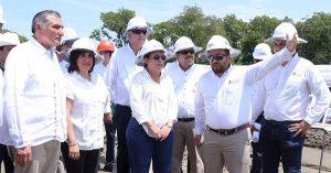Avanza conforme a programa obra de refinería en Dos Bocas