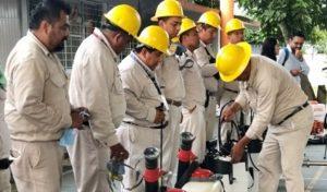 Envían servidores de la nación a combatir el dengue junto con vectores en Poza Rica