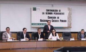 Comisión de Hacienda aprueba Ley de Ingresos 2020; pasa al Pleno