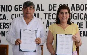 Estrechan lazos de colaboración UJAT y Ayuntamiento de Teapa