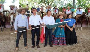 IDEY abandera a delegación yucateca rumbo a encuentro nacional charro