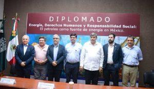 Inauguran diplomado en Energía, Derechos Humanos y Responsabilidad Social en la UJAT