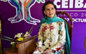 Reconoce Ofelia Medina al Festival Cultural CEIBA