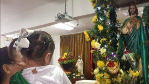 Así celebran en Veracruz a San Judas Tadeo, santo de las causas imposibles