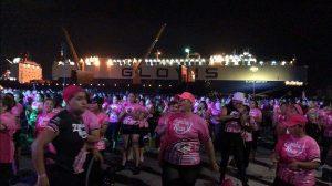Realizan Zumba Rosa contra el cáncer en Veracruz