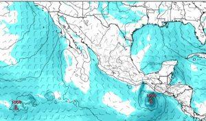 Prevén formación de ciclón tropical en Golfo de Tehuantepec y baja presión en Golfo de México
