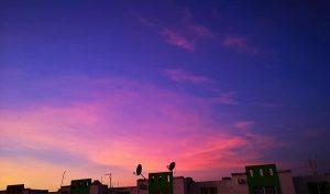 Los colores del cielo en Veracruz