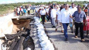 Rehabilitación de puente de villa Sánchez Magallanes, anuncia Adán Augusto