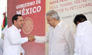 El Presidente Andrés Manuel López y el Gobernador Mauricio Vila Dosal impulsarán la construcción de un Centro de Acopio de Miel en Yucatán