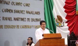 Trabajamos para devolver la tranquilidad a las familias de Tabasco: Ángel Mario Balcázar Martínez