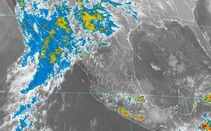 Se mantiene el pronóstico de lluvias fuertes en Veracruz, Tabasco, Oaxaca y Chiapas
