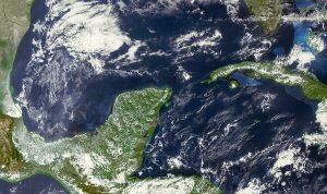 Pronóstico de temperaturas calurosas, sin descartar chubascos vespertinos en la península de Yucatán
