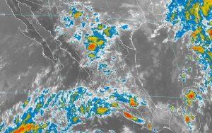 El Frente Frío Número 8 y la Onda Tropical 49 ocasionarán lluvias intensas en el sur de Veracruz, muy fuertes en Oaxaca y Tabasco