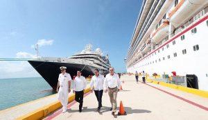 Cruceros de clase premier incluyen a Yucatán en sus rutas