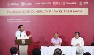 El Tren Maya potencializará la dinámica económica de Yucatán: Gobernador Mauricio Vila Dosal